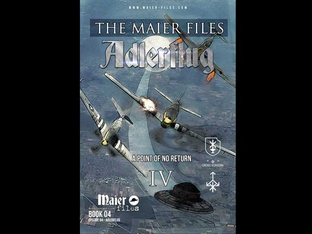 Maier files Adlerflug